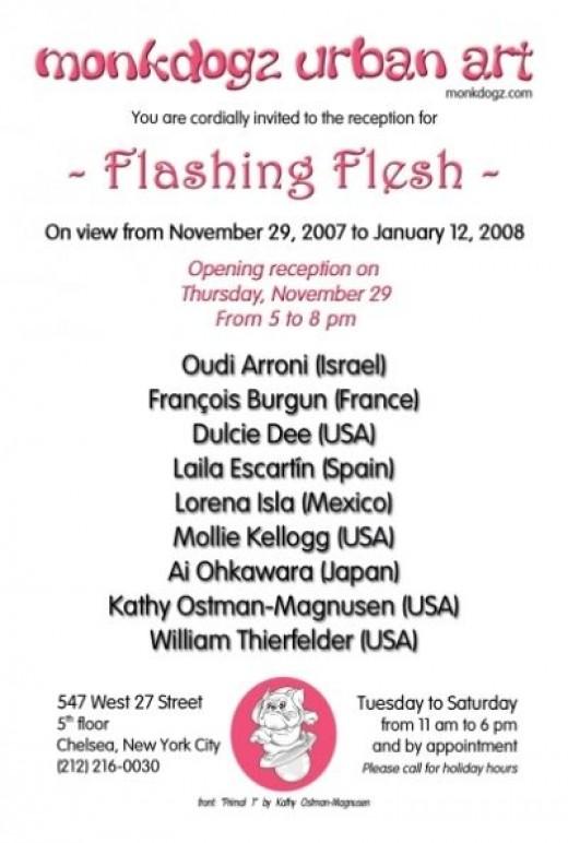 """""""Flashing Flesh"""""""