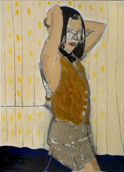 """Girl With Yellow"" by Karina Sala"