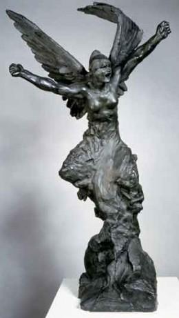 """Auguste Rodin, """"Spirit of War"""""""
