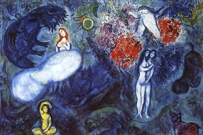 Marc Chagall - Le Paradis