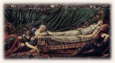 Sleeping Beauty, Edward Burne-Jones