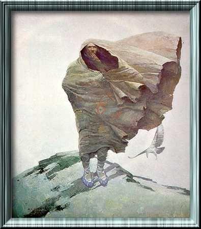 """""""Winter"""" N.C. Wyeth"""