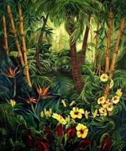 """Hideaway"" 60x72 oil on canvas by Kathy Ostman-Magnusen"