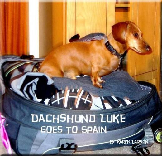 Book Dachshund Luke Goes To Spain