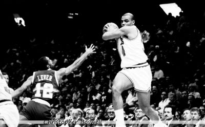 Charles Barkley in Flight
