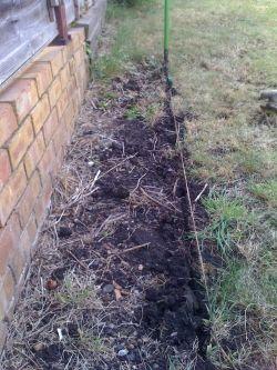 Garden border step two