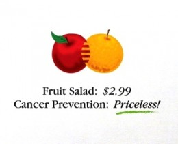 Healthy Eating - Priceless!