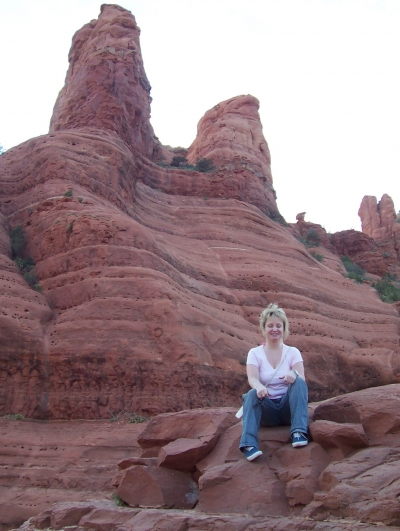 Me on Vacation in Sedona
