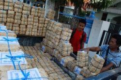 Tapey Singkong Bondowoso, packed in Bamboo basket