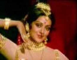 Hindi film dream girl Hemamalini-, who is a good dancer too-in a role, with different jewels