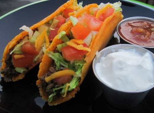 picture of mexican taco
