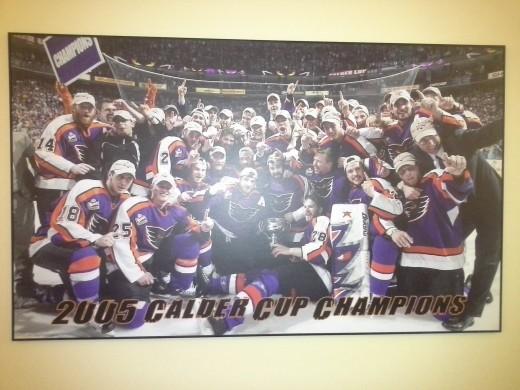 AHL - Philadelphia Phantom's Calder Cup - we were there