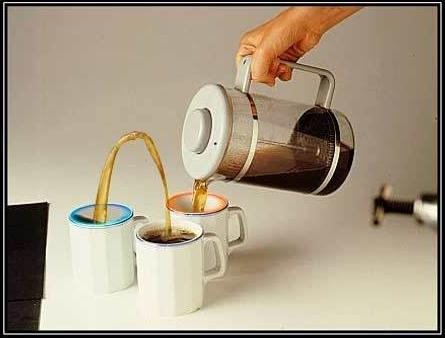 Now you're thinking with Portals... to pour your coffee!