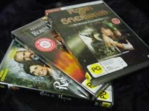 Some of my Robin Hood DVDs
