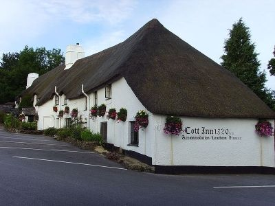The Cott Inn, which was built in 1320