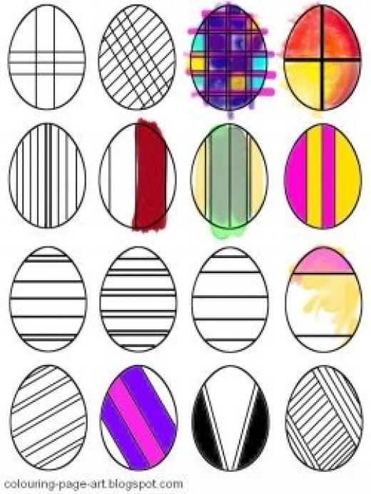 So many stripes, so many eggs!