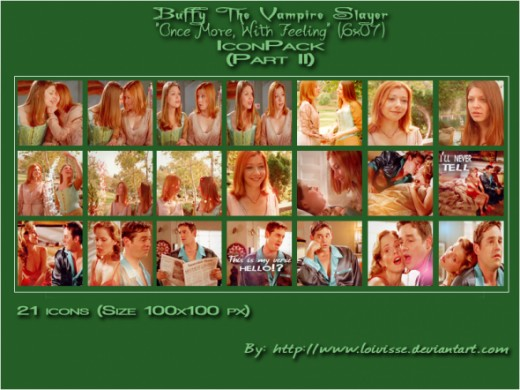 BtVS Once More With Feeling icons - P2