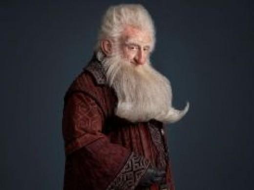 Balin played by Ken Stott in the Hobbit: An Unexpected Journey