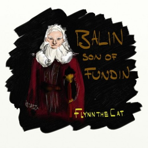 Balin Son of Fundin by Flynn the Cat