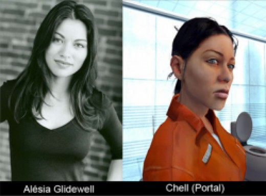 Chell and Alesia Glidwell