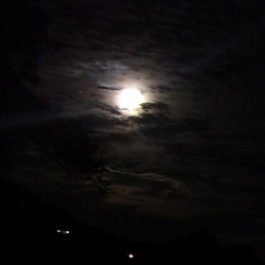 Introspection - Full Moon Photo