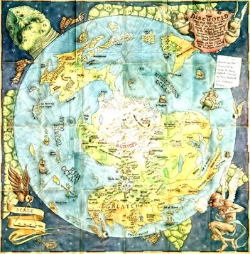 Map of the Discworld