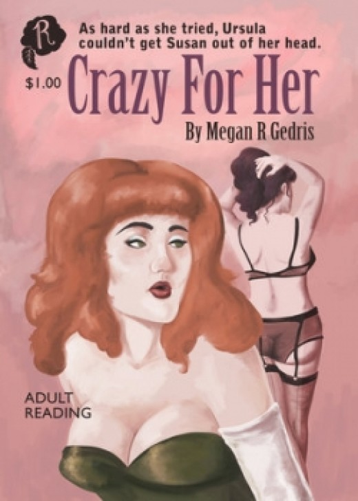 Crazy For Her - Book Cover by rosalarian (Megan Rose Gedris)
