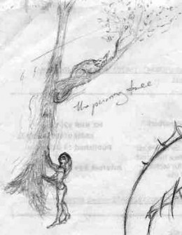 The Purring Tree: idea for a painting