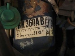 Ford 302 Engine ID Decal