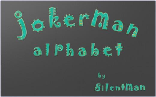 Sticker Alphabet by SilentMan