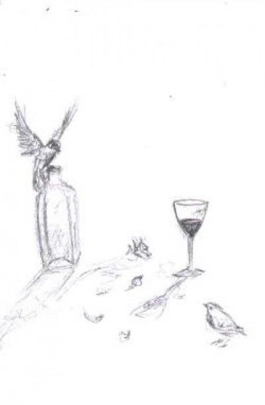 Wine and Birds
