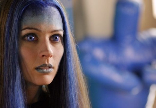A better view of Illyria's facial designs