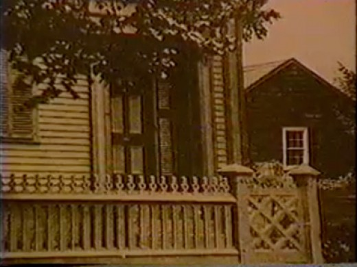 The house on Second street where the murders took place.