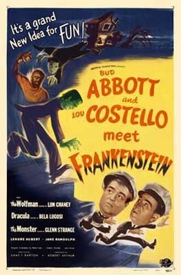 Abbott and Costello Meet FrankensteinHorror,Sci-Fi, ComedyBud Abbott and Lou Costello