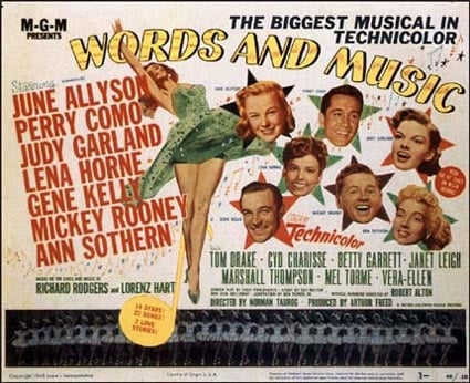 Words and MusicBiography,Comedy,MusicJune Allison and Perry Como