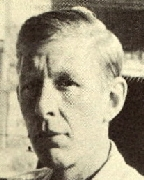 "Wystan Hugh Auden    February 21, 1907 – 29 September 1973.   An Anglo-American Poet, born in England.  He moved to the U.S. in 1936 and became a citizen in 1946.  His poem, in six parts ""The Age of Anxiety"" won the Pulitzer Prize in the category of"