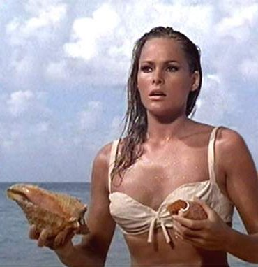 When Honey Ryder Emerged From The Sea So Began A Movie Tradition