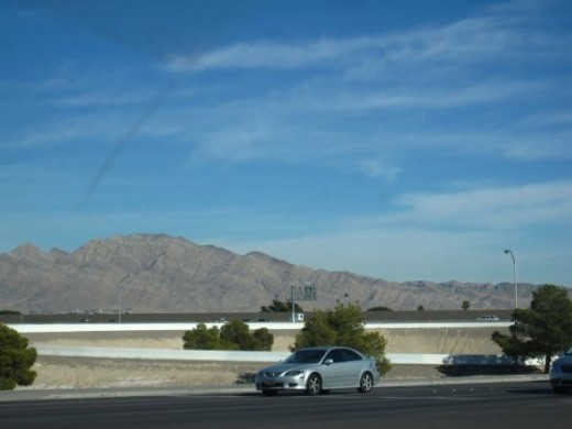 Leaving Las Vegas.