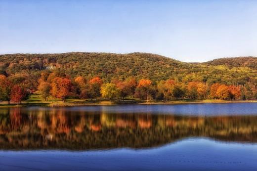 Scenic autumn image.
