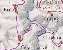 The Battle area