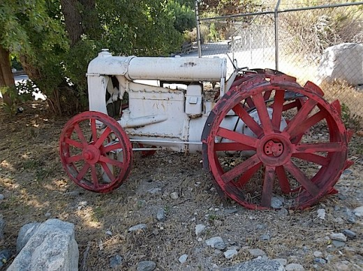 Old tractor in Lytle Creek, California.  I could not get it started.