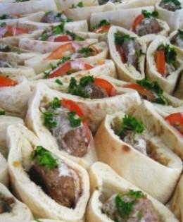 Pita bread fillings