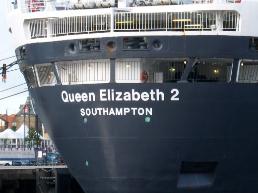 Docked at the Port of Tyne in 2008