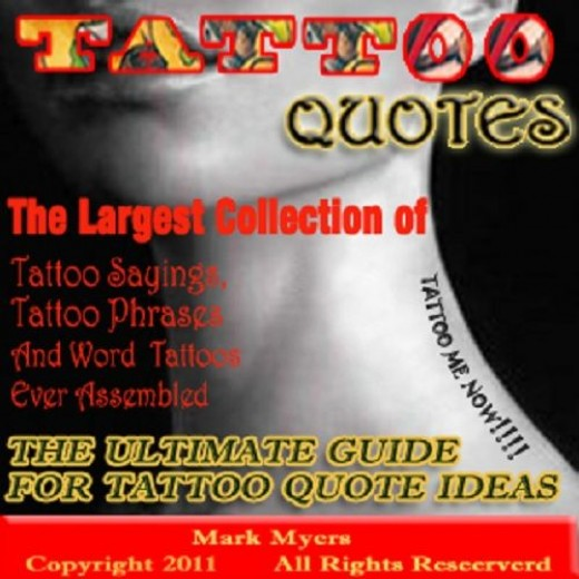 Tattoo Quotes on Kindle
