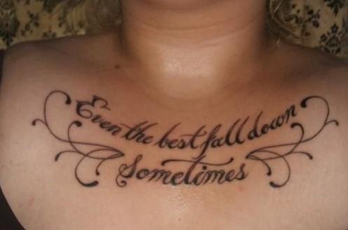 Adversity Tattoo Quotes