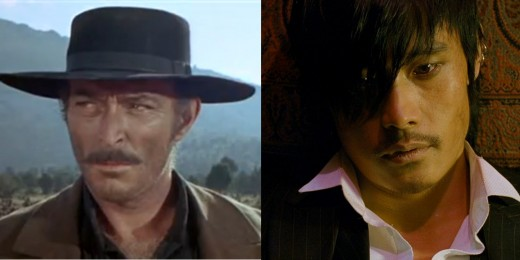 THE BAD - Lee Van Cleef (1966) and Byung-hun Lee (2008)
