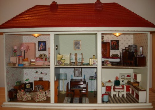 Vintage Doll Houses My Collection Hobbylark
