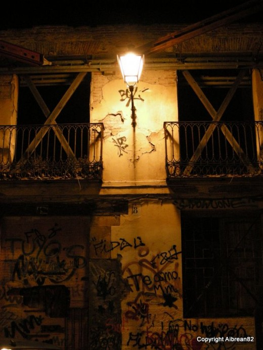 A derelict house in Leon, Spain.