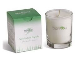 Soy candle from Bambu