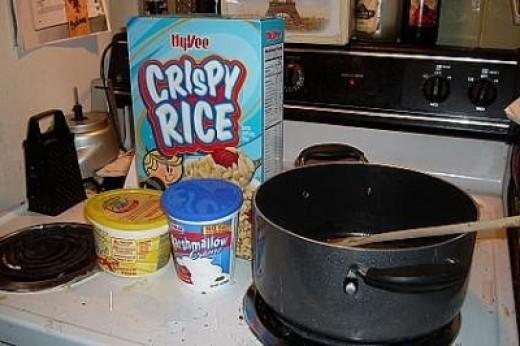 vegetarian rice crispy treats